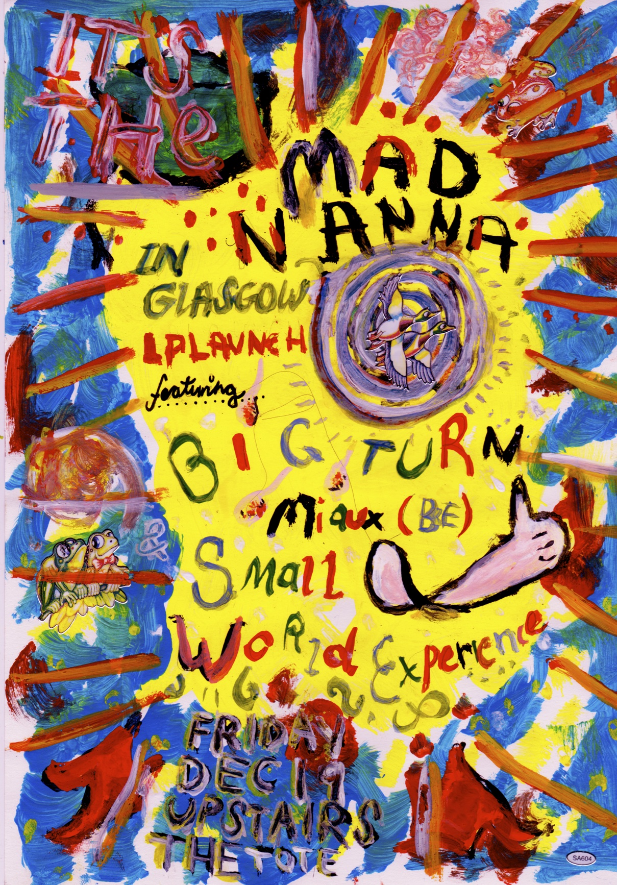Mad Nanna In Glasgow LP launch